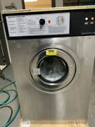 Wascomat Front Load Washer W124 30lb Stainless Steel 200-240v 60hz 3ph [used]
