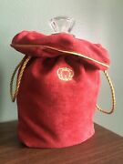 Crown Royal Xr Extra Rare Red Bottle And Bag. Perfect Condition.