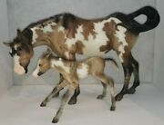 Breyer Zion And Moab Susecion And Lefire Mare And Foal Set
