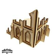 Knights Of Dice Terrain 28mm Gothic Ruins - Building 5 Pack Sw