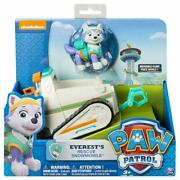 Paw Patrol Everestand039s Rescue Snowmobile Toy Figure And Vehicle