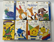 Lot Of 8 Vintage Baby Einstein Vhs Tapes Van Gogh Neptune Mozart Bach Beethoven