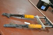 1985 Yamaha Tri Z 250 Front Forks Set With Triple Tree
