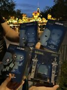 Disney Funko Pop Haunted Mansion Hitchhiking Ghosts And Doom Buggy Pin Set Le