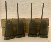 Icom Ic-f3001 5w Vhf 16-channel Portable Transceiver - Lot Of 4 New
