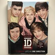 One Direction Dare To Dream Signed Book Harry Niall Zayn Liam Louis Autographed