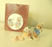 Enesco Mouse Tales Of Christmas Figurine I'll Be Home For Christmas Priscilla's