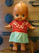 Large Kewpie Celluloid Doll Baby Dress 1926-1950 Made In Japan Size 43cm 16in