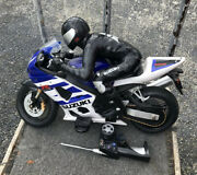 Tyco Suzuki Gsxr-1000 1/3 Scale R/c Motorcycle With Battery And Remote Untested