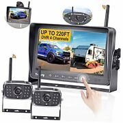 Wireless Backup Camera For Rv Hd 1080p 2 Wireless Rear View Cameras Highway