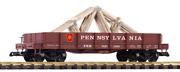 Piko G 38754 Prr Low-side Gondola W/ Roof Trusses G-scale