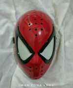 Spider Man Face Mask Comic Style Shell And Lenses / Bagley / Faceshell / Ultimat