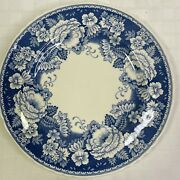 Masons Crabtree And Evelyn Blue And White Roses Dinner Plate 10.25