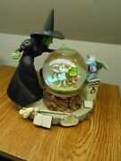 Nice San Francisco Music Box Co Wizard Of Oz Water,snow Globe Optimistic Voices