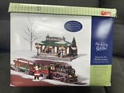 Dept 56 Snow Village Home For The Holidays Express Train 55320 Read