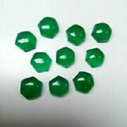 Natural Green Onyx Hexagon Shape Size 21mm To 25mm Aaa Quality Natural Onyx