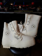 U.s G.i. Mickey Mouse Bunny Boots Minor 12xw White New Usually Fits Size 13 Shoe