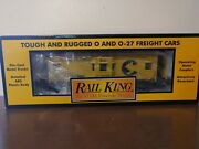 Mth Railking 30-7713 Chessie Bay Window Caboose - O Scale