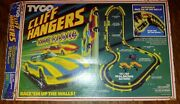Vintage Tyco Cliff Hangers With Nite Glow Racetrack 1984 Track Set 6220