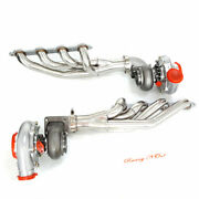 Exhaust Manifold+elbow Adapter+t4 Ar.80/.96 Turbo For Ls1 Ls2 Lsx Small Block V8