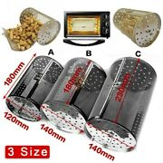 Oven Basket Stainless Steel Bbq Rotisserie Almonds Accessories Roaster 3 Size