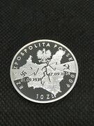 10 Zlotych 2009 Mw Poland Ag Proof 70 Years Of The Start Of World War Iiand039and039