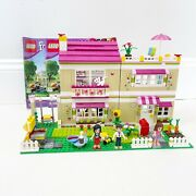 Lego 3315 Friends Olivia's House 100 Complete Retired Manuals Mini Figures