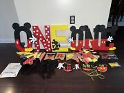 Mickey Mouse Party Supplies And Decorations For 1st Birthday Party Mickey Decor