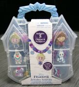 Frozen 2 Jewelry Activity Set 155 Beads And Necklace Brand New Christmas Gift New
