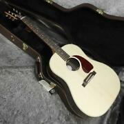 Gibson J-45 Studio Rosewood Antique Natural Acoustic Guitar With Hard Case Japan