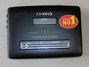 Aiwa Hs-jx859 Stereo Cassette Recorder With Packaging And Accessories Rare