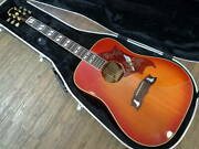 headway Hj-910 Dove 1980 Acoustic Guitar With Hard Case Shipped From Japan