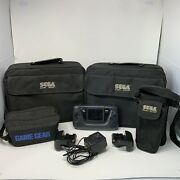 Sega Game Gear Console Games Cases Bundle Streets Of Rage Earth Worm Jim X-men