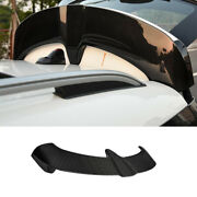 Fit For Mini Cooper Countryman F60 Dry Carbon Fiber Rear Trunk Spoiler Wing Flap