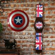 Avengers Captain America Shield Quality Superhero Weapon Prop 24 Inches Marvels