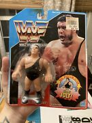 1990 Hasbro Wwf Series 1 U.s. Blue Card Andre The Giant Figure Reattached Wwe