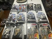 Star Wars The Black Series 6 Inch Lot Of 106 Sealed Figures- Some Very Rare
