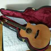 ayers Sjoh Nh Custom Natural 6 String Acoustic Guitar With Hard Case
