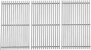 """Stainless Steel Grill Cooking Grates 3-pack 18.75"""" For Weber Genesis Ii Lx 400"""