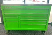 Snap On Kra2422jj1 Tool Box 55 10-drawer Double-bank Classic Series Roll Cab