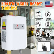 3800w Instant Hot Water Heater Electric Tankless On Demand House Shower Sink