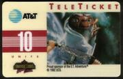 10,25,50u E.t. Universal Studios. French In Envelopes. Set Of 3 Phone Card