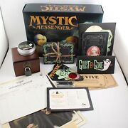 Ghastly Manor Mystic Messenger Board Game By Hunt A Killer Complete Pre-played
