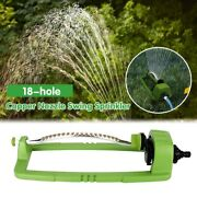 Automatic High-speed 3 Modes Hose Swing Sprinkler For Field Wating Cement Curing