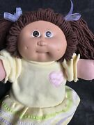 Cabbage Patch Kid Doll Monkey Face Hm9 Brown Ponies Brown Eyes