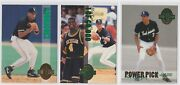 A-rod 3 Card Pre-rookie Lot 1993 Classic Alex Rodriguez Base And Inserts Prospect