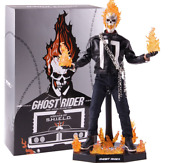 Ghost Rider Agents Of S.h.i.e.l.d. Hot 16 Scale 12 Tms005 Figure Toy 12