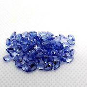 Natural Tanzanite Pear Facted Cut Loose Gemstone 7x10mm To 8x12mm Aaa Quality