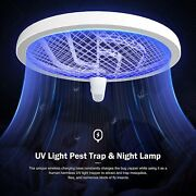 Bug Zapper, Mosquito Killer Usb / Wireless Rechargeable, Electric Fly Swatter La