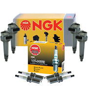 Ngk 4 Ignition Coils And 4 G-power Platinum Spark Plugs Kit For Scion Toyota